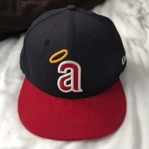 Angels Fitted Baseball Hat 7 1/4